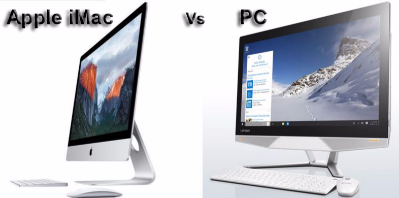 Four Current All-in-one-Desktops Specs Compared