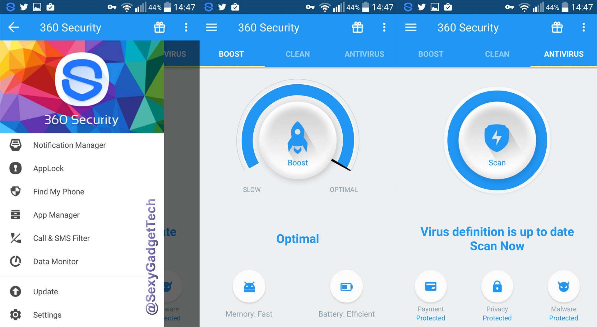 360 Security - System Tools FREE Android phone app