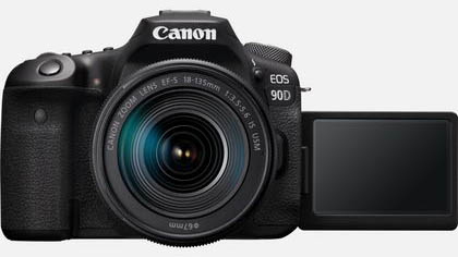 Canon EOS 90D + EF-S 18-135mm IS USM Lens