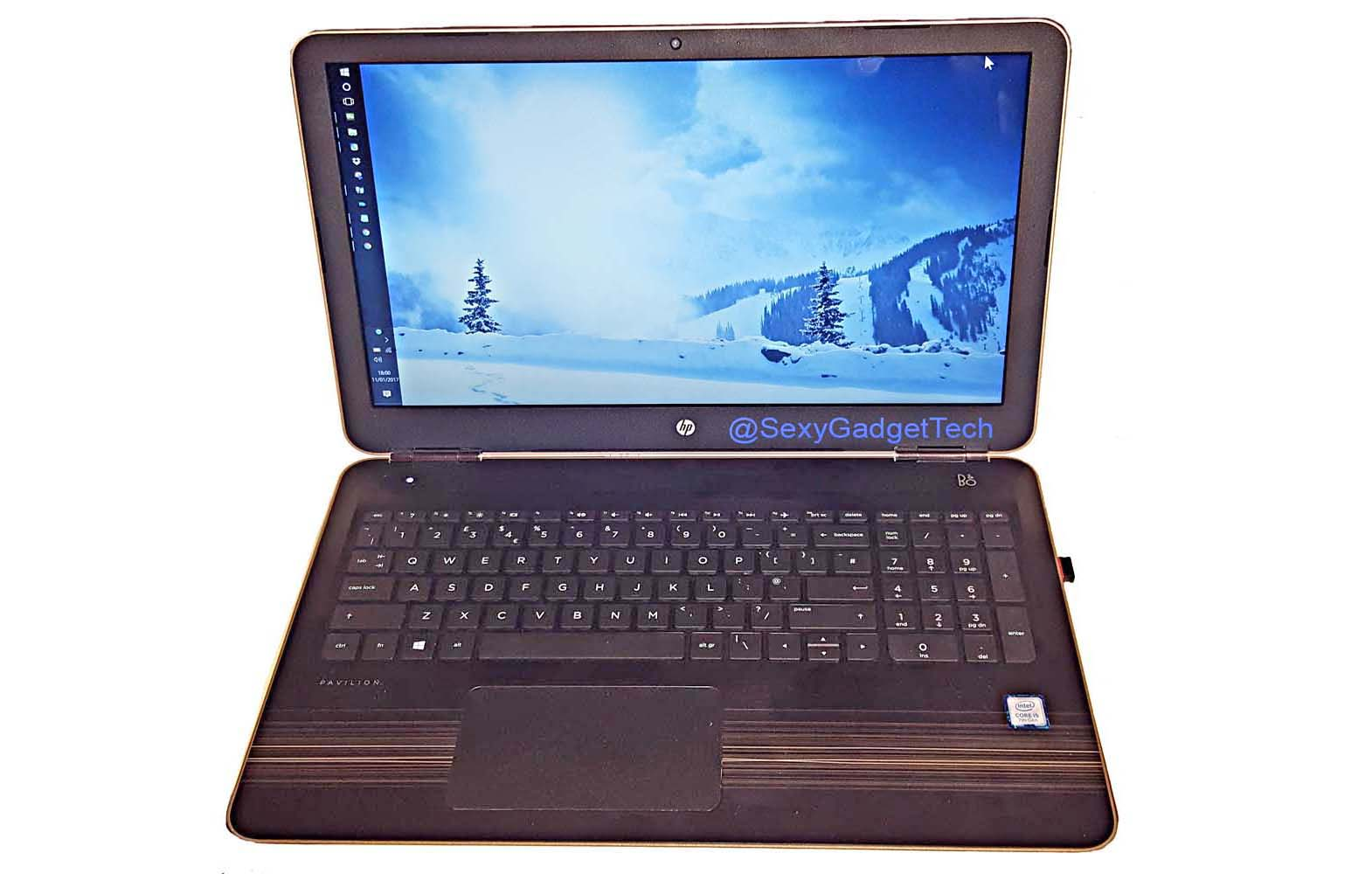Pavilion 15.6 Laptop with the latest 7th Gen Intel® Core™ i5 Processor - Gold