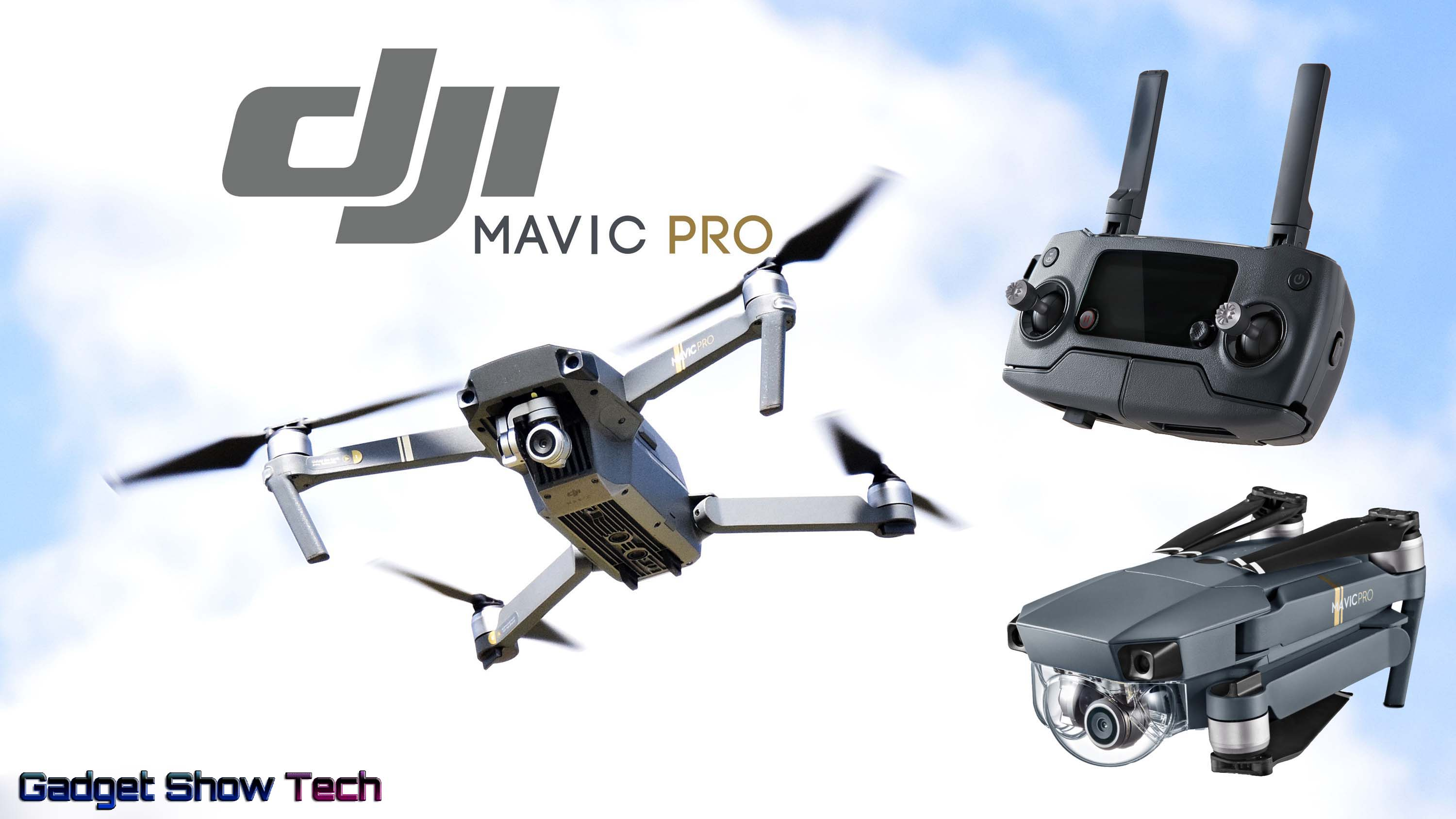 DJI Mavic Pro Quadcopter 4K Camera Drone