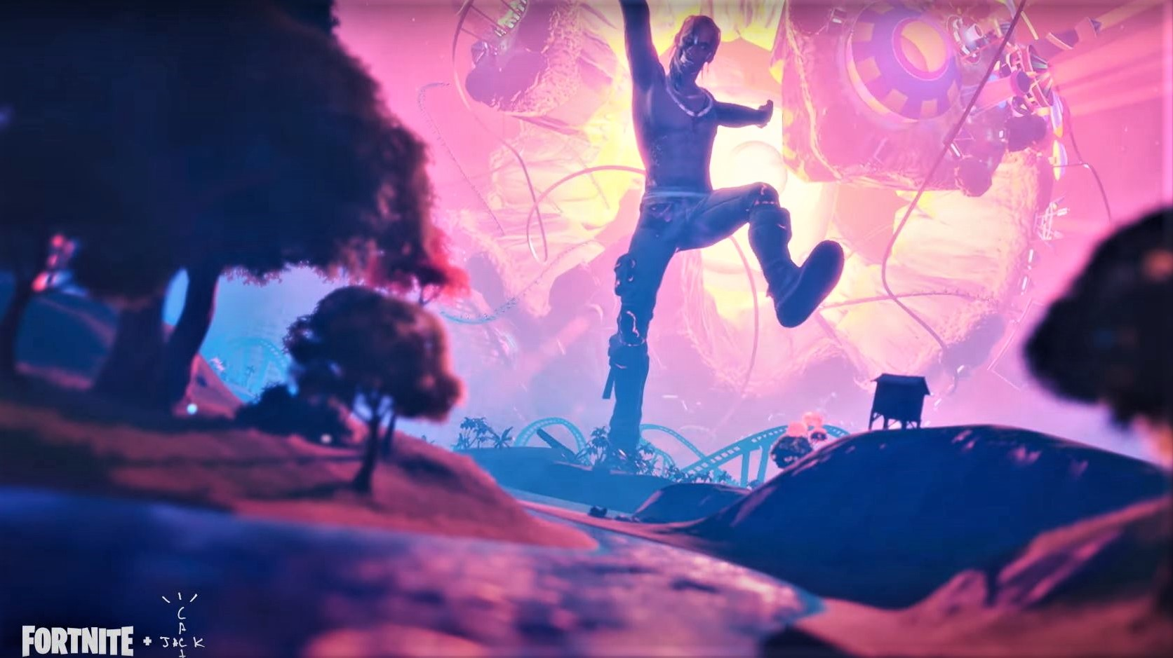 An other-worldly experience like nothing you've ever seen is coming April 23-25. A one of a kind musical journey and the world premiere of a brand new Travis Scott track.