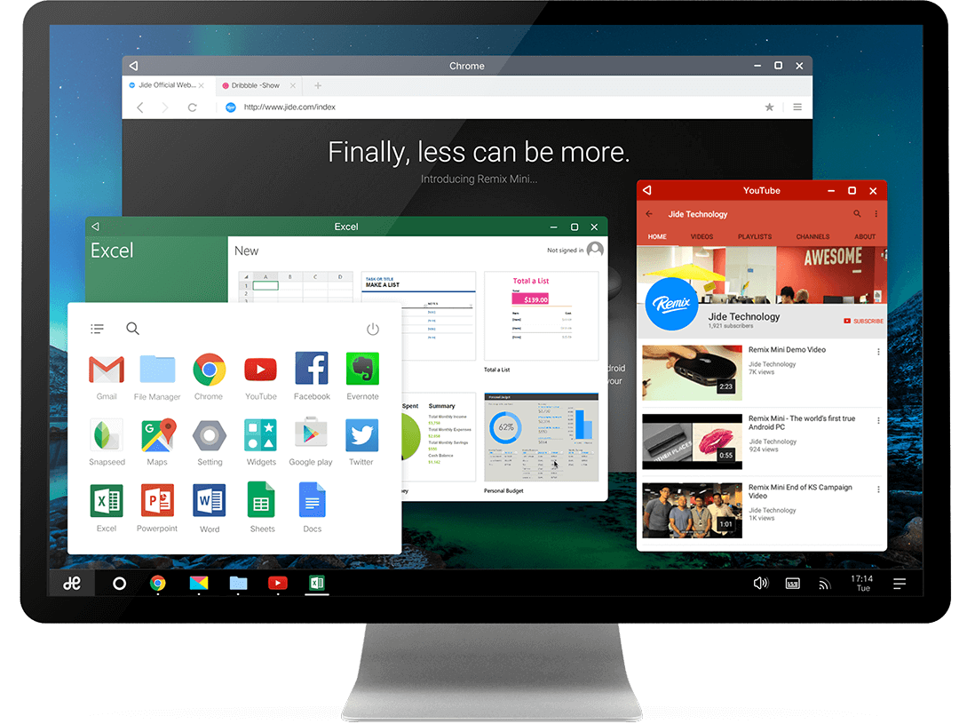Android-x86 Based Remix OS