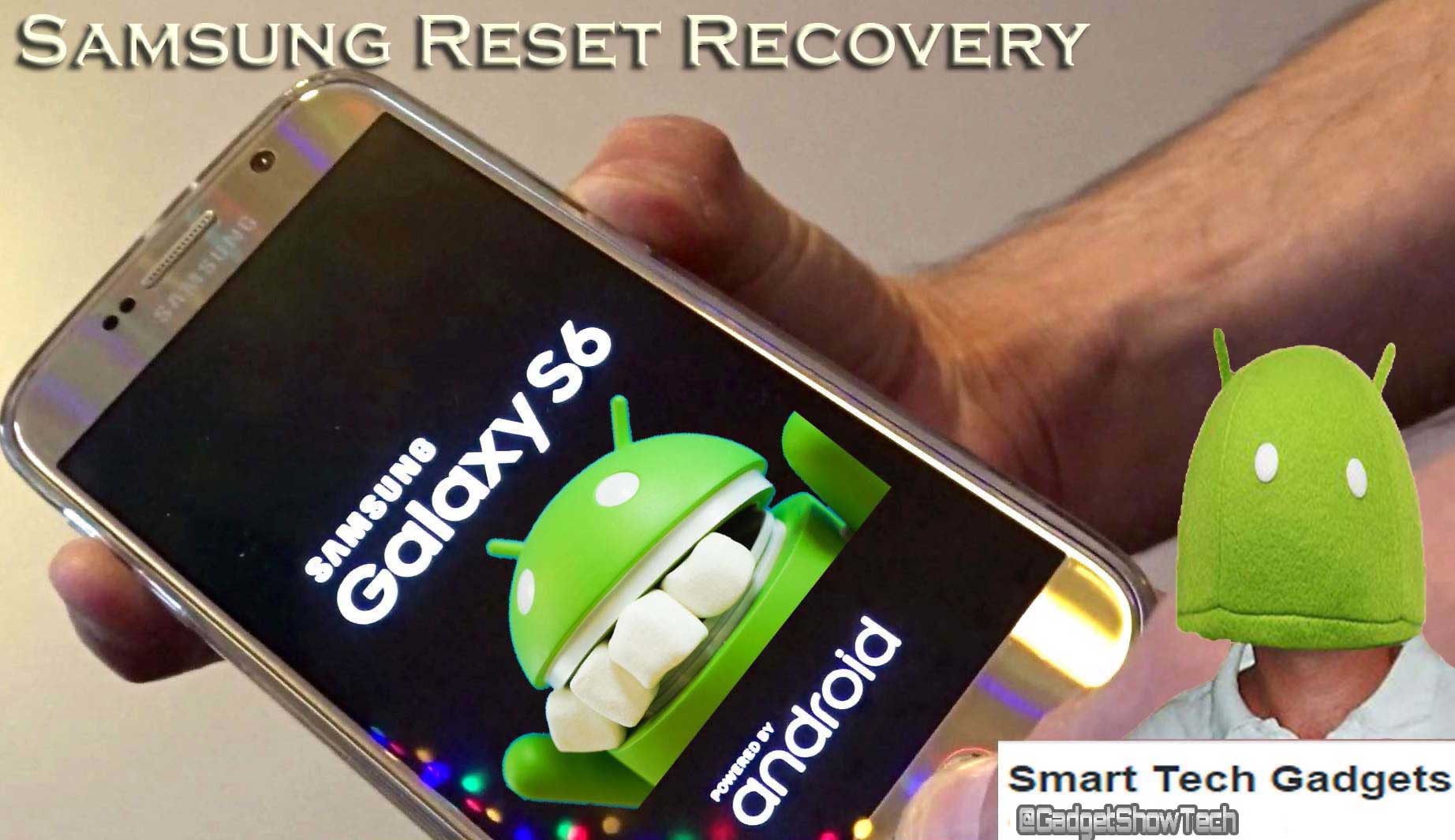 HOW TO RESET PASSWORD ON SAMSUNG GALAXY S6 WHEN LOCKED OUT
