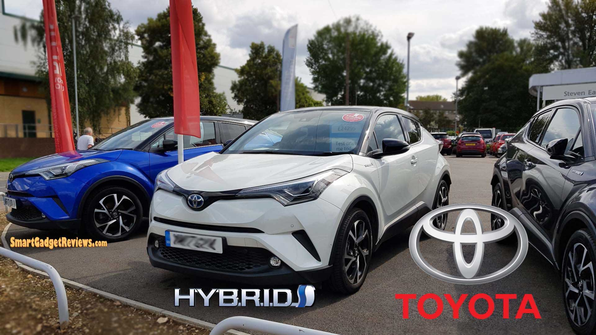 The All New 2018 Toyota C-HR Crossover SUV Car Steven Eagell Toyota (Watford)