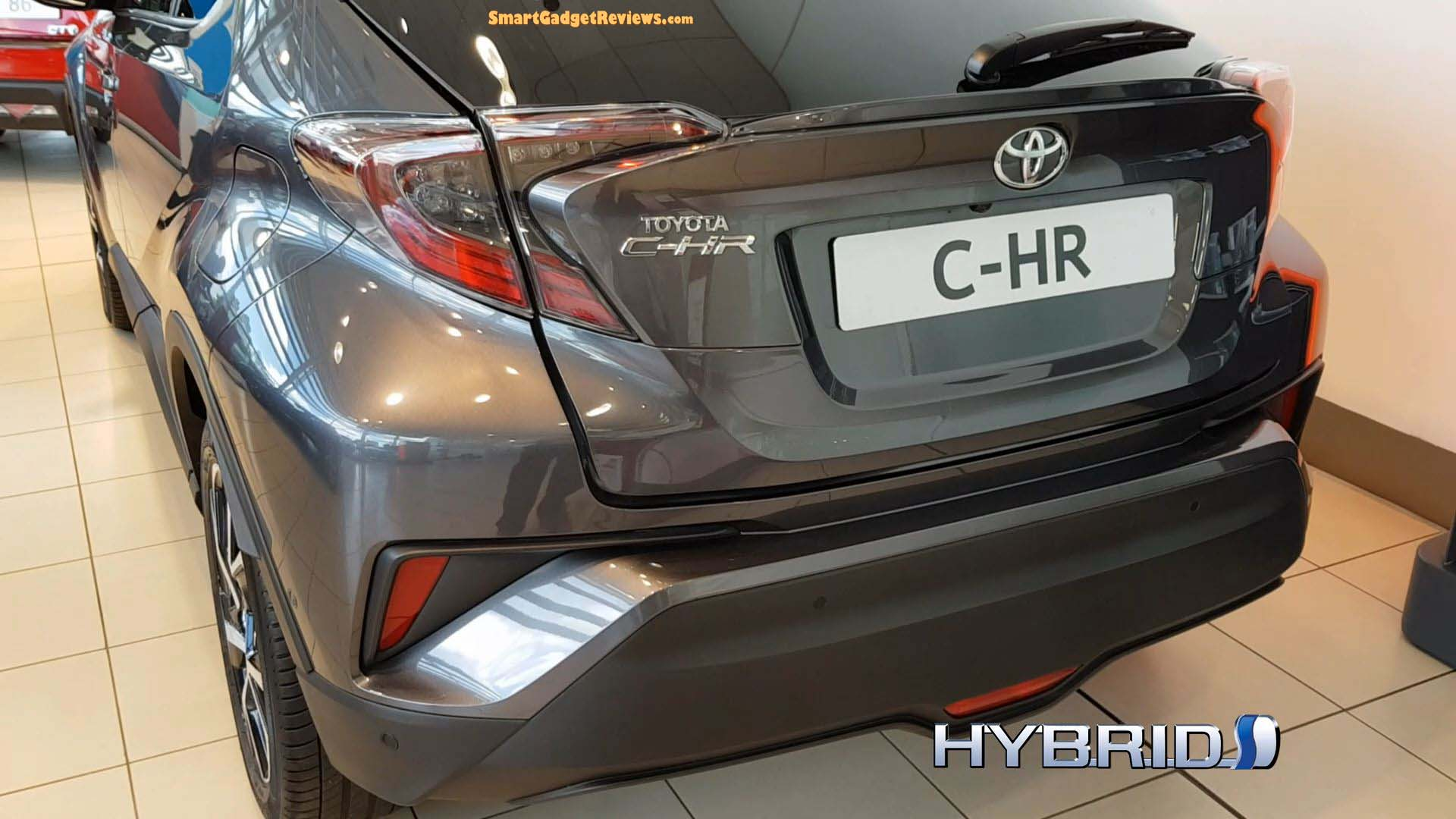 The All New 2018 Toyota C-HR Crossover SUV Car
