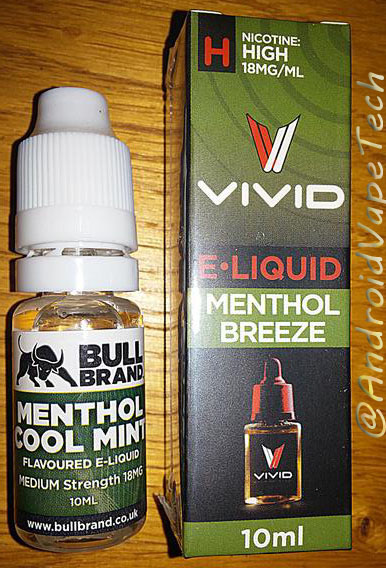 E-Liquid Reviews - Bull Vivid Oceanus Halcyon Haze Nothern Lights totally liberty flights