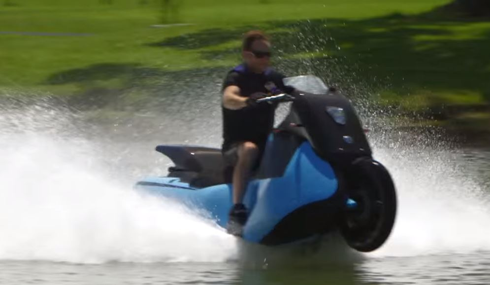 >Biski Road to Water, a new form of transportation