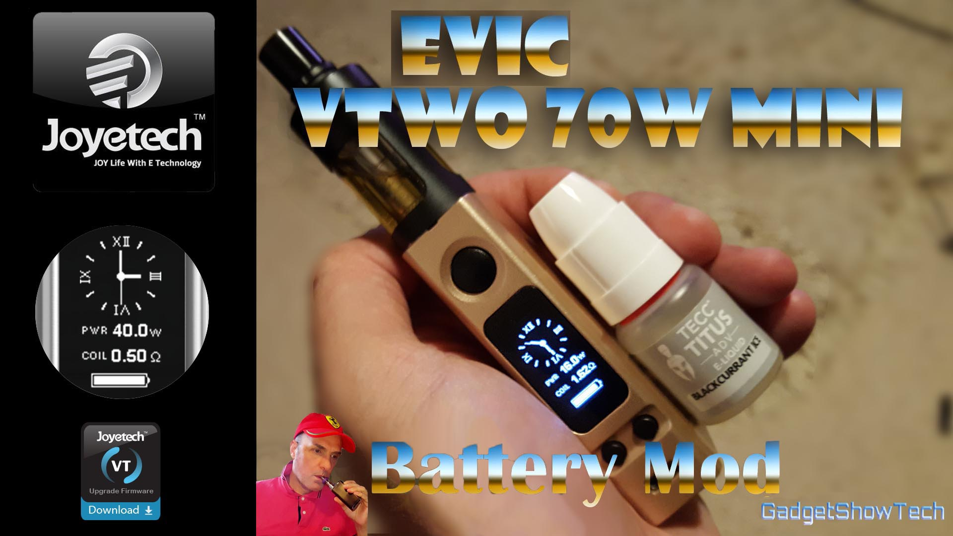 Joyetech eVic VTwo Mini Battery Mod with Battery