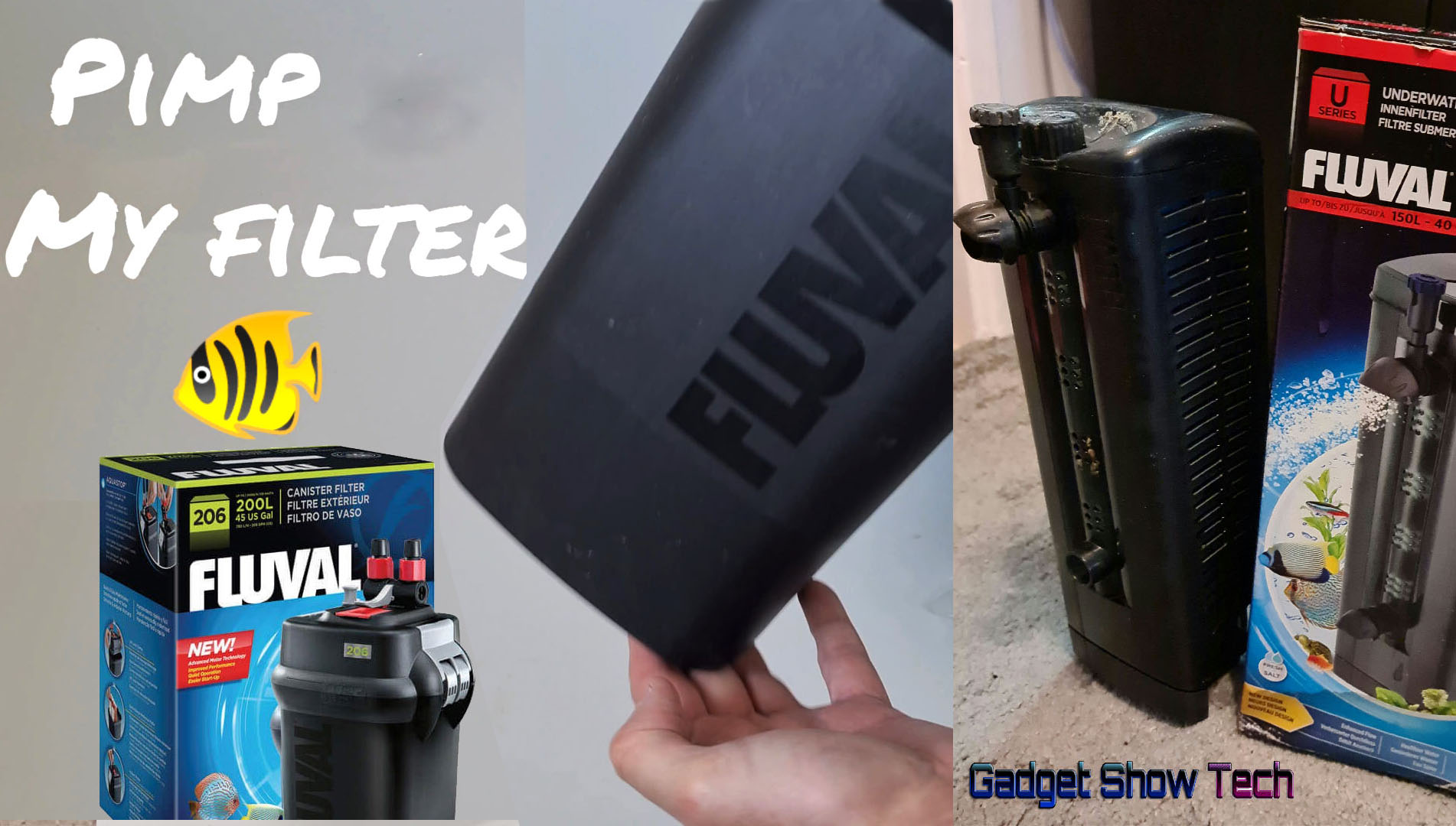 How to maintain and clean FILTERS for Fish Tank Aquariums. Wayne's AquaWorld