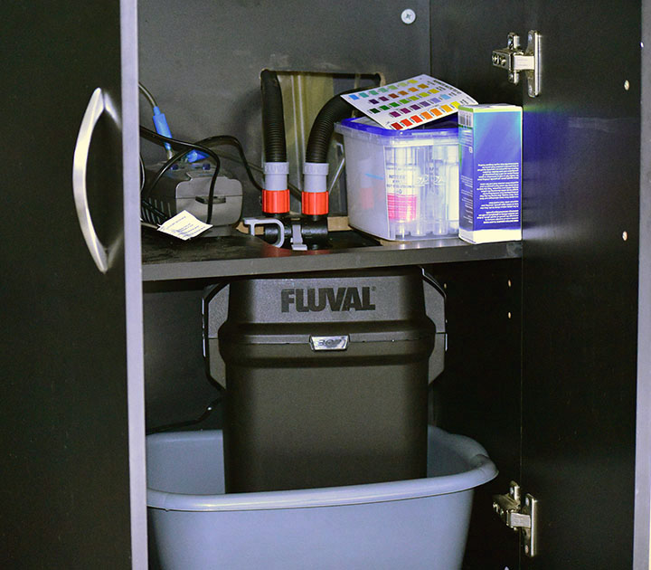 How to Boost FLUVAL 206/207 Canister Filter and cabinet. Wayne's AquaWorld