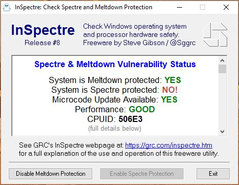 How to check Meltdown and Spectre Security on INTEL and other Processors and Android Devices