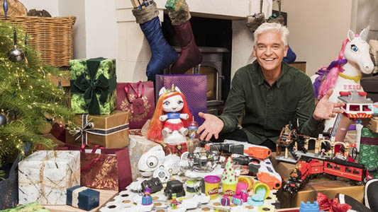 Phillip Schofield rates and reviews the Top must-have toys for Christmas 2018