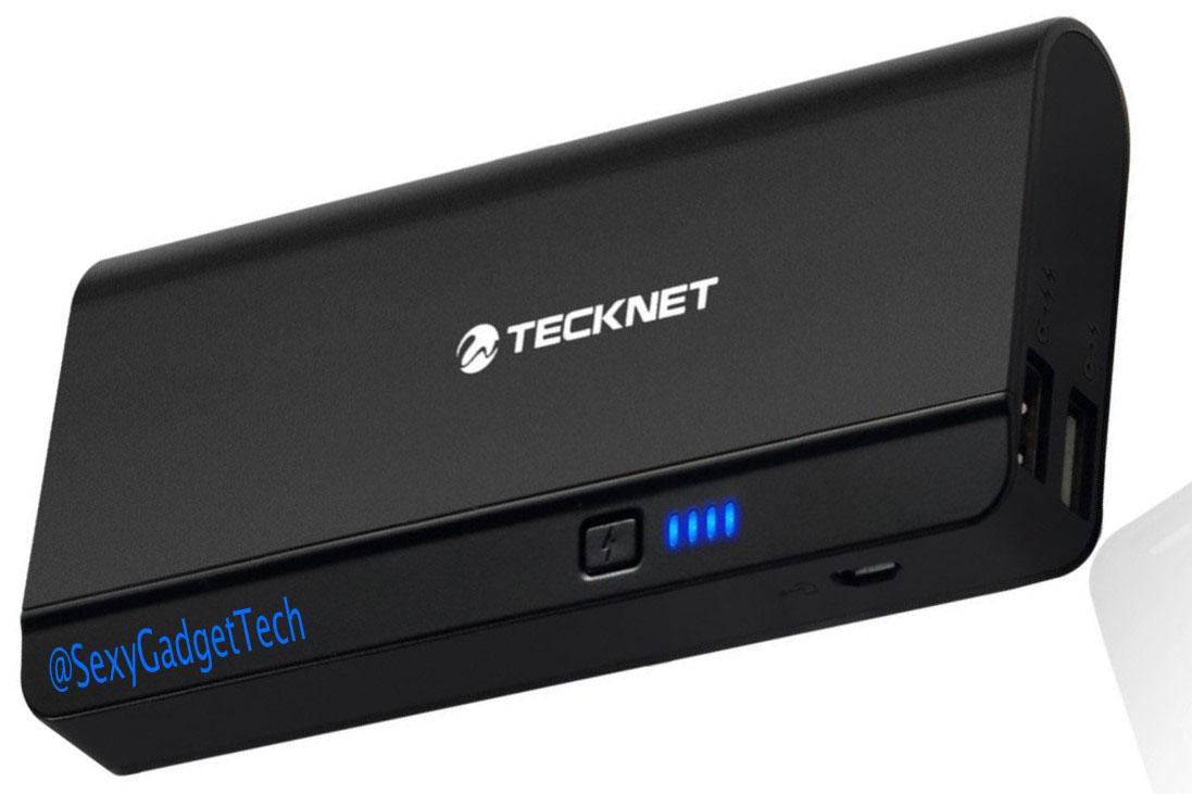 Portable External USB Battery Power Review with Video.