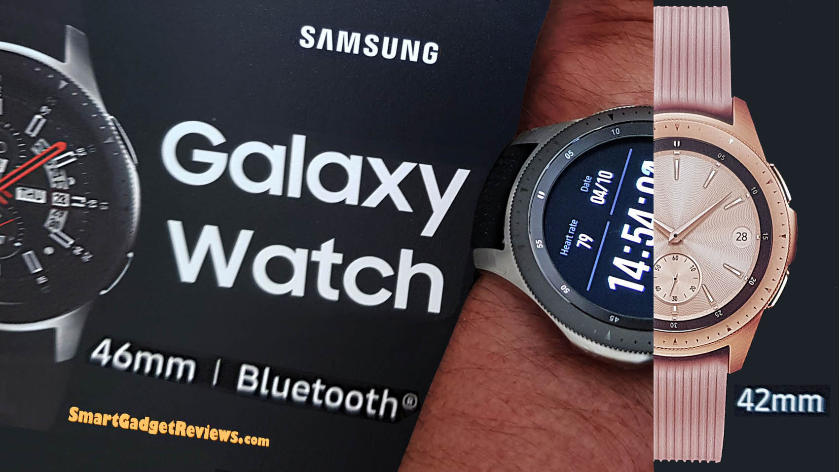 Galaxy smartwatch connect fitness monitor to phone