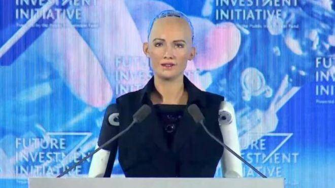 Hot Android Humanoid Robot At SXSW Says She Wants To Destroy Humans