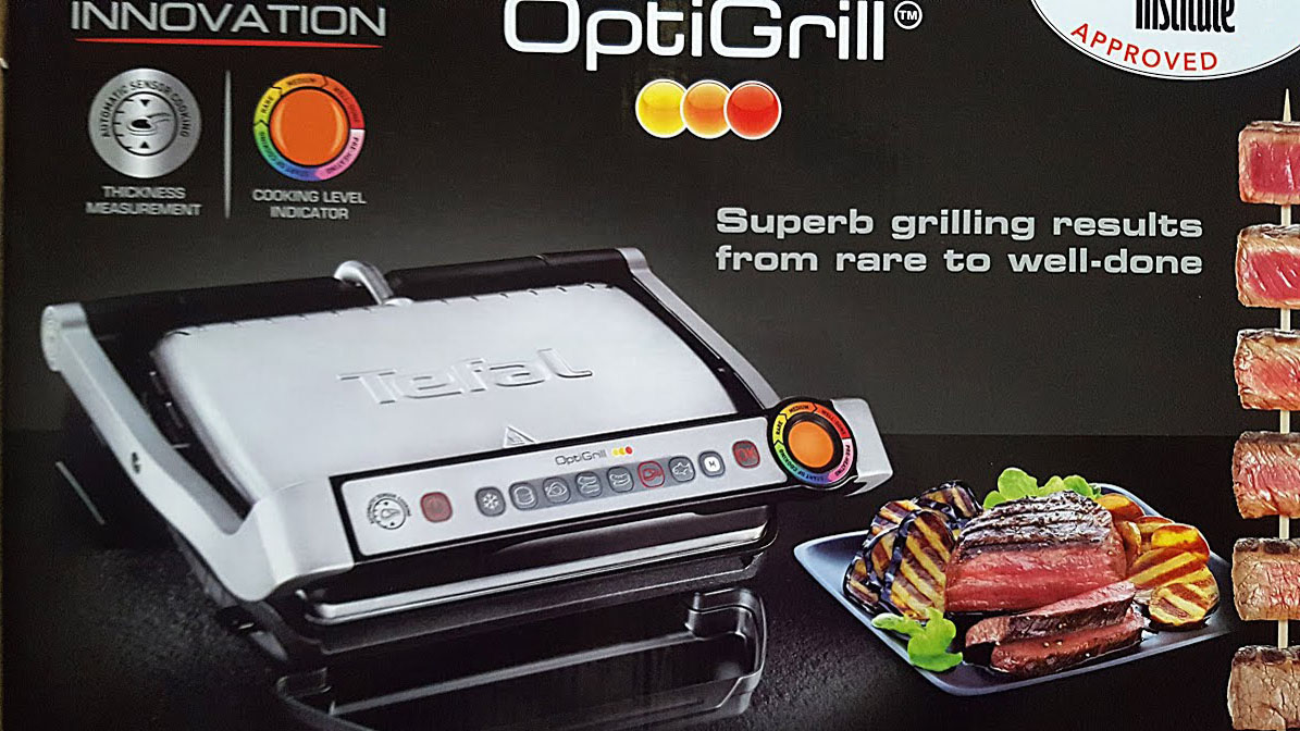 Tefal OptiGrill - First Use Guide Health Grill.
