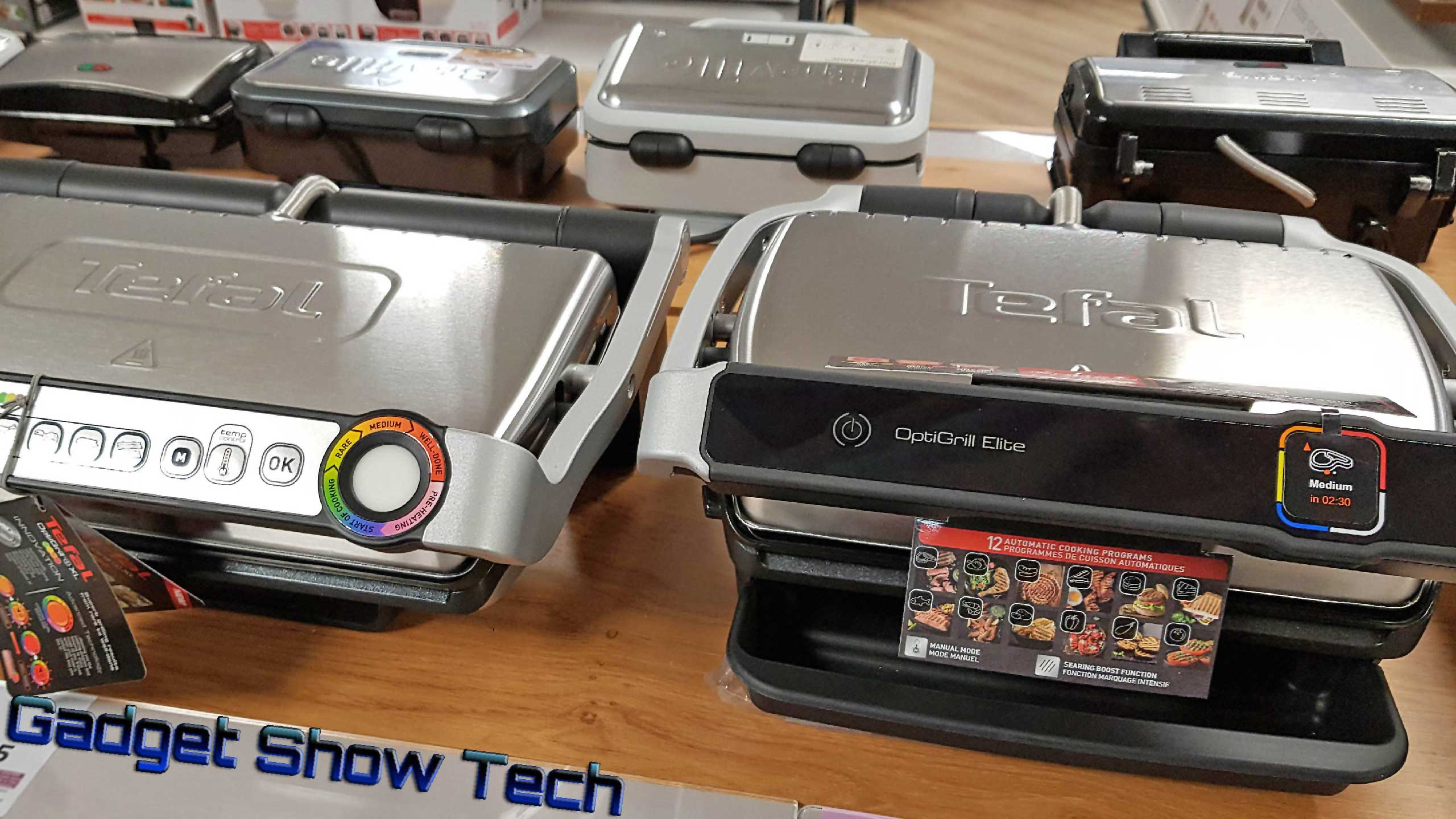 Using the Tefal OptiGrill is like having a professional grill chef at home.