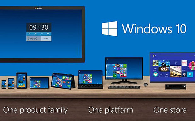Windows 10 Connects Televisions and Projectors